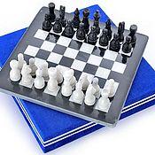 Активный отдых и развлечения handmade. Livemaster - original item Chess made of stone Marble 30, PakShah. Handmade.