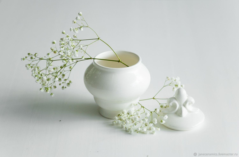 Jar 'Scallop', handmade ceramics, Jars, Zhukovsky,  Фото №1