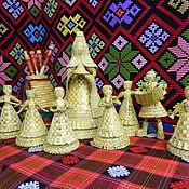 Куклы и игрушки ручной работы. Ярмарка Мастеров - ручная работа Соломенная кукла. Handmade.