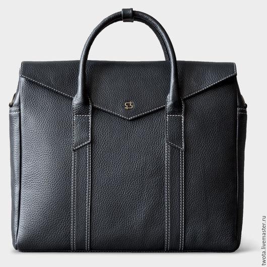 """Мужские сумки ручной работы. Ярмарка Мастеров - ручная работа. Купить Сумка """"Boston"""". Handmade. Мужская сумка, сумка для ноутбука"""