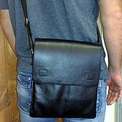 Сумки и аксессуары handmade. Livemaster - original item Bag leather mens 152. Handmade.