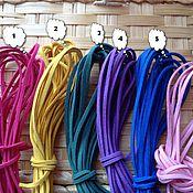 Материалы для творчества ручной работы. Ярмарка Мастеров - ручная работа шнур замшевый 1,5мм. Handmade.