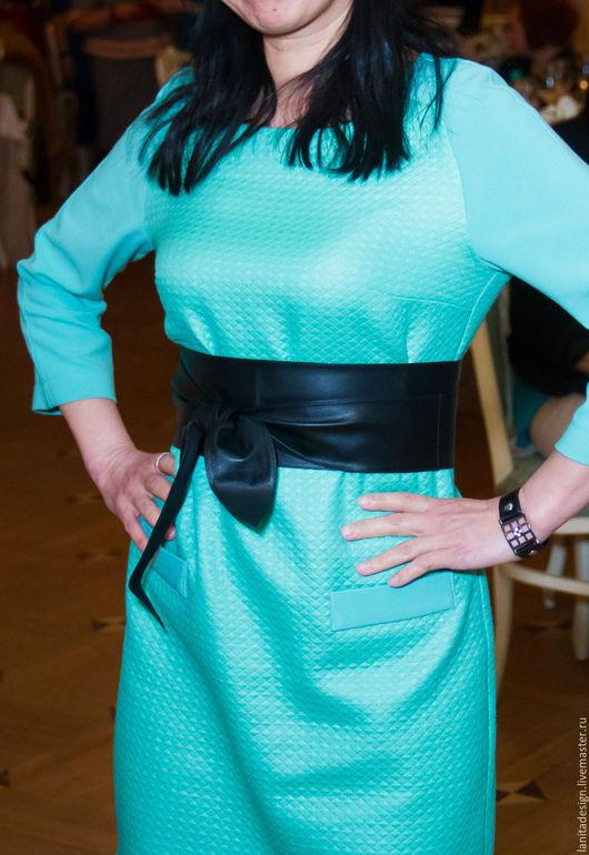 """Пояса, ремни ручной работы. Кожаный пояс  """"Black NEW"""". Lanita Design. Ярмарка Мастеров."""
