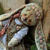 """Куклы и игрушки ручной работы. Ярмарка Мастеров - ручная работа Плюшевая зайка """"Иришка"""". Handmade."""