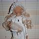 Коллекционные куклы ручной работы. Ярмарка Мастеров - ручная работа. Купить ФЕЯ ДОБРЫХ СНОВ. Handmade. Белый, для детей, синтепух