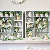 Для дома и интерьера handmade. Livemaster - original item Shelves: wooden shelf on the wall in the style of Provence