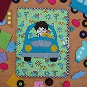 """Куклы и игрушки ручной работы. Ярмарка Мастеров - ручная работа Развивающая книжка """"Путешествие"""". Handmade."""