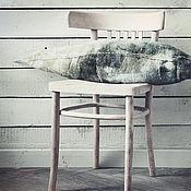 Для дома и интерьера handmade. Livemaster - original item Decorative felt pillow from the collection Where the beetle lives.. Handmade.