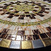 Для дома и интерьера handmade. Livemaster - original item Table with a mosaic