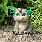 Куклы и игрушки ручной работы. Ярмарка Мастеров - ручная работа Лесной зверек Микитунь. Handmade.