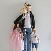 """Куклы и игрушки ручной работы. Ярмарка Мастеров - ручная работа Тильда """"Папа может!"""". Handmade."""