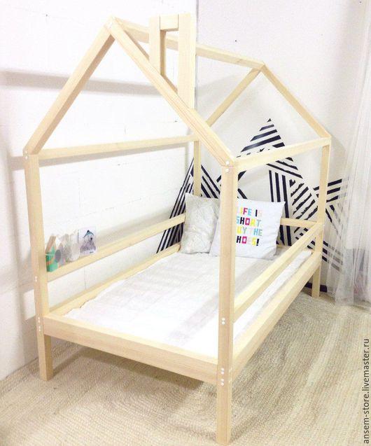 Детская ручной работы. Ярмарка Мастеров - ручная работа. Купить Детская кровать домик Норд. Кроватка ручной работы. Handmade.