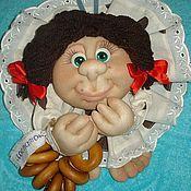 Куклы и игрушки ручной работы. Ярмарка Мастеров - ручная работа Кукла-оберег на удачу с баранками. Handmade.