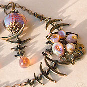 Украшения handmade. Livemaster - original item Artifact: necklace and earrings. Handmade.