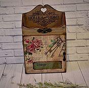 Для дома и интерьера handmade. Livemaster - original item The housekeeper wall