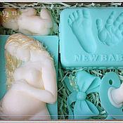 """Косметика ручной работы. Ярмарка Мастеров - ручная работа """"В ожидании чуда"""", подарочный набор мыла. Handmade."""