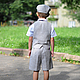 Одежда для мальчиков, ручной работы. Льняной нарядный комплект: кепка, жилетка и шорты. Nastiin. Ярмарка Мастеров. Нарядный детский комплект