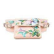 Аксессуары handmade. Livemaster - original item Hummingbird waist bag-belt