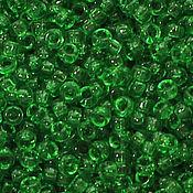 Бисер ручной работы. Ярмарка Мастеров - ручная работа Круглый 15/0 Miyuki 146 Tr Green японский бисер Миюки. Handmade.