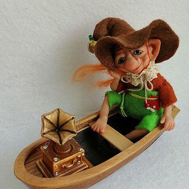 Dolls & toys handmade. Livemaster - original item Meloman. Miniature toys. Handmade.