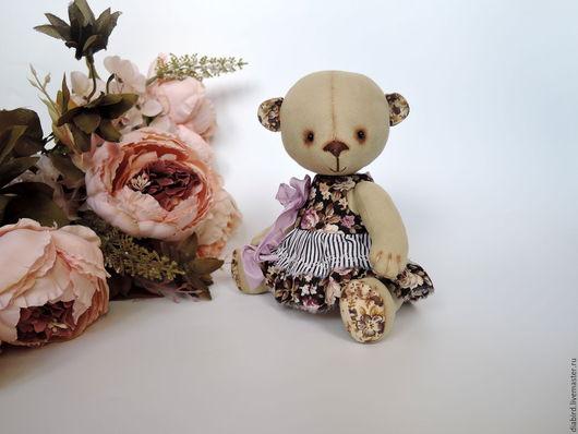 Мишки Тедди ручной работы. Ярмарка Мастеров - ручная работа. Купить Мишка Тедди  Текстильная игрушка. Handmade. Бежевый