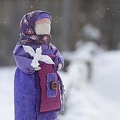 Куклы и игрушки ручной работы. Ярмарка Мастеров - ручная работа Кукла Птичка в руках... Handmade.