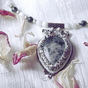 """Украшения ручной работы. Ярмарка Мастеров - ручная работа ожерелье """"Зимнее"""". Handmade."""