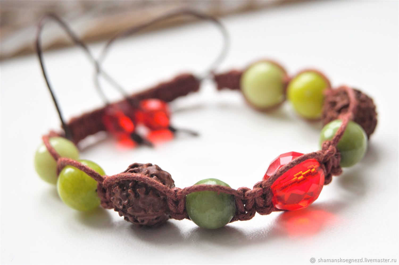 """Браслет-шамбала """"Энергия"""", Bead bracelet, Kaluga,  Фото №1"""