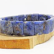 handmade. Livemaster - original item Bracelet of sodalite cut. Handmade.