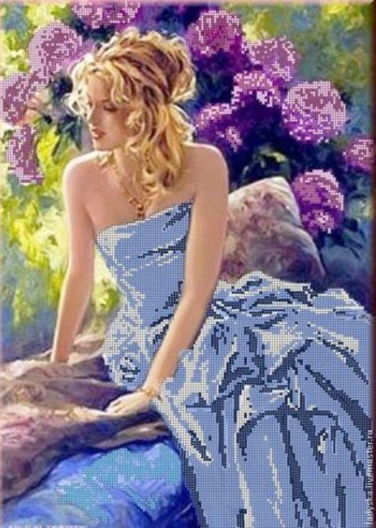 Люди, ручной работы. Ярмарка Мастеров - ручная работа. Купить ,,Голубые Мечты,,. Handmade. Бирюзовый, цветы, подарок на любой случай