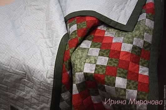 Текстиль, ковры ручной работы. Ярмарка Мастеров - ручная работа. Купить Одеяло/покрывало. Handmade. Комбинированный, хлопок американский