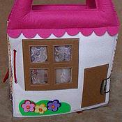 Куклы и игрушки ручной работы. Ярмарка Мастеров - ручная работа Книга-домик для куклы.. Handmade.