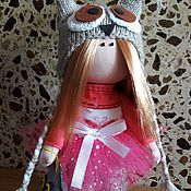 Куклы и игрушки ручной работы. Ярмарка Мастеров - ручная работа Совушка Софьюшка (мудрая).. Handmade.