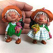 Куклы и игрушки ручной работы. Ярмарка Мастеров - ручная работа Джуди и Сэм. Handmade.
