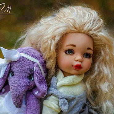 Куклы и игрушки ручной работы. Ярмарка Мастеров - ручная работа Наташа. ООАК Паола Рейна. Куколка в работе.. Handmade.