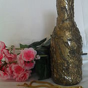 Для дома и интерьера ручной работы. Ярмарка Мастеров - ручная работа Ваза в эко-стиле. Handmade.