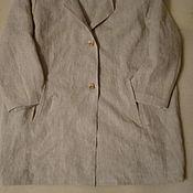 Одежда handmade. Livemaster - original item Robe oversize linen
