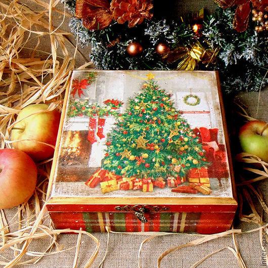 новогодний короб для сладостей короб для чайных пакетиков декупаж чайная шкатулка декупаж новый год чайная коробка купить короб декупаж короб для сладостей для чая коробка для сладостей декупаж новогодний подарок на нг коробка со сладостями новогодние сладости в коробке подарочные коробки для сладостей коробка сладостей в подарок шкатулка для хранения короб для рукоделия шкатулка для рукоделия Внутреннее пространство