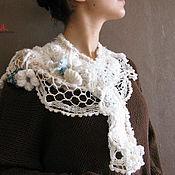 Аксессуары handmade. Livemaster - original item Scarf knitted