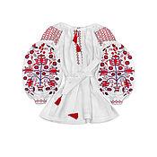 """Одежда handmade. Livemaster - original item Туника с вышивкой """"Дерево Жизни"""". Handmade."""