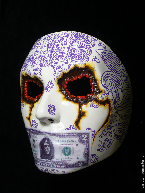 Hollywood undead маска своими руками фото 302