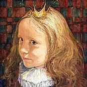 Картины и панно ручной работы. Ярмарка Мастеров - ручная работа маленькая принцесса. Handmade.