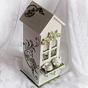 Для дома и интерьера handmade. Livemaster - original item Tea house