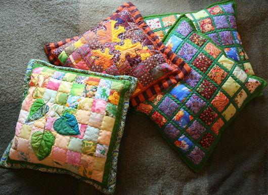 Текстиль, ковры ручной работы. Ярмарка Мастеров - ручная работа. Купить наволочки на подушки. Handmade. Подарок, интерьер, наволочка