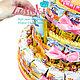 Кулинарные сувениры ручной работы. Торт из соков и Барни в школу садик для девочки мальчика угощение. Ника Окунева 'ZEFIRKI'. Ярмарка Мастеров.