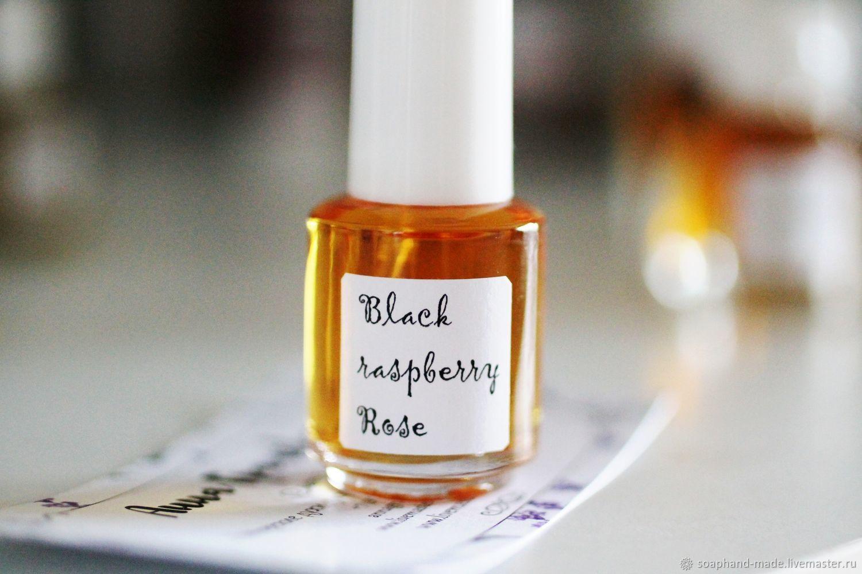 """Натуральные духи ручной работы. Ярмарка Мастеров - ручная работа. Купить """"Black raspberry rose"""" авторские духи. Handmade. Бежевый"""