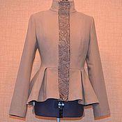 Одежда ручной работы. Ярмарка Мастеров - ручная работа Пальто Баска. Handmade.