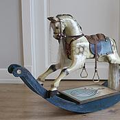 Куклы и игрушки ручной работы. Ярмарка Мастеров - ручная работа лошадка-качалка Флай. Handmade.