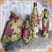 """Сувениры и подарки handmade. Livemaster - original item Interior set """"will decorate the cottage"""". Handmade."""