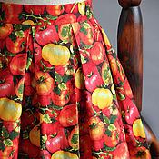 Одежда ручной работы. Ярмарка Мастеров - ручная работа помидорная юбка. Handmade.